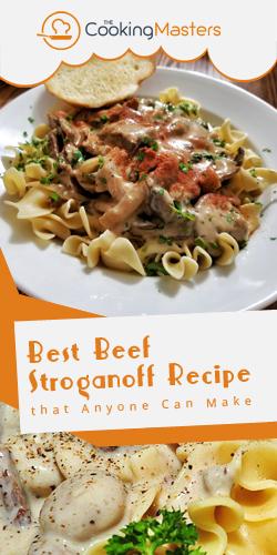 Best beef stroganoff recipe