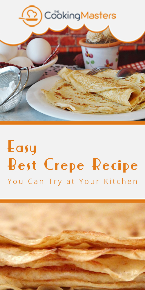 Best crepe recipe
