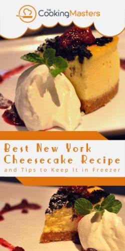 Best New York cheesecake recipe