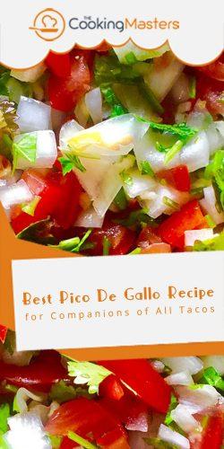 Best pico de gallo recipe