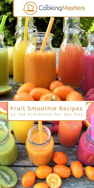 Fruit smoothie recipes