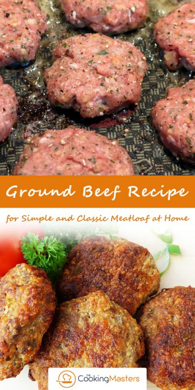 Ground beef recipe