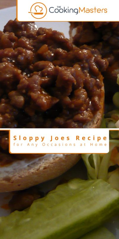 Sloppy joes recipe