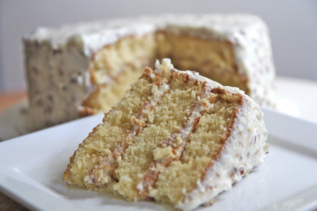 Homemade Italian Cream Cake