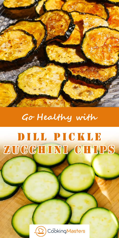 Dill Pickle Zucchini Chips
