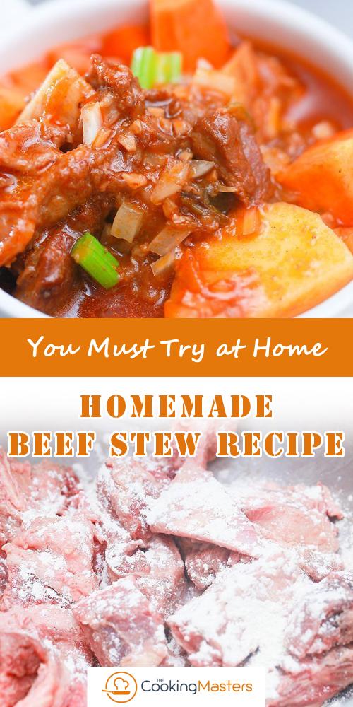 Homemade Beef Stew Recipe