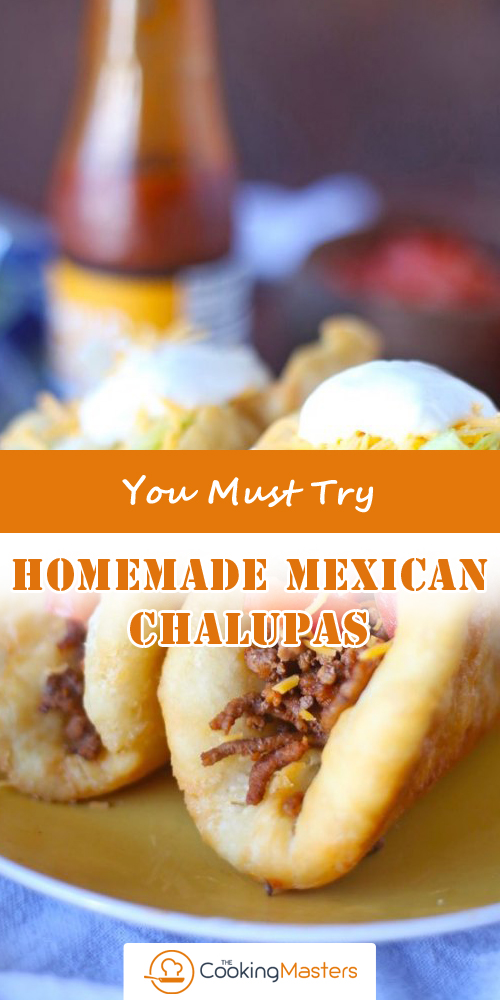 Homemade Mexican Chalupas