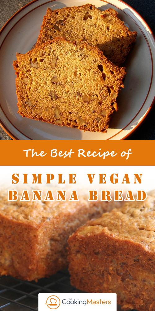 Simple Vegan Banana Bread