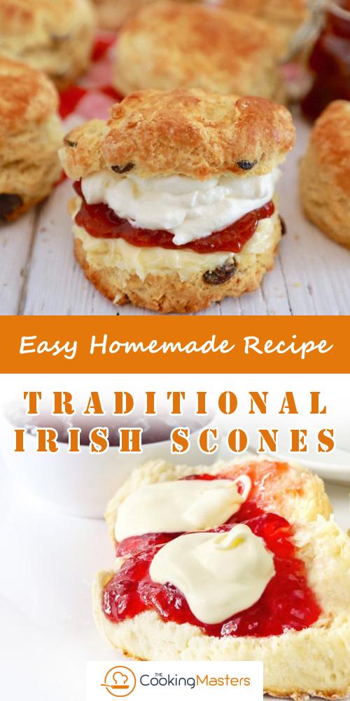 Traditional Irish Scones